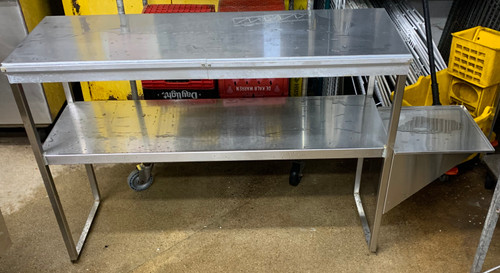 "USED DOUBLE 48"" OVER SHELF"