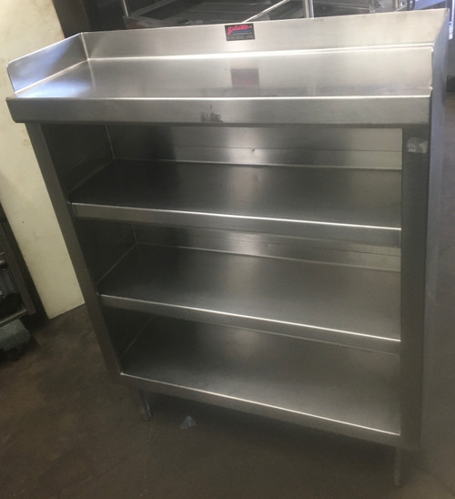 STAINLESS STEEL PLATE SHELF