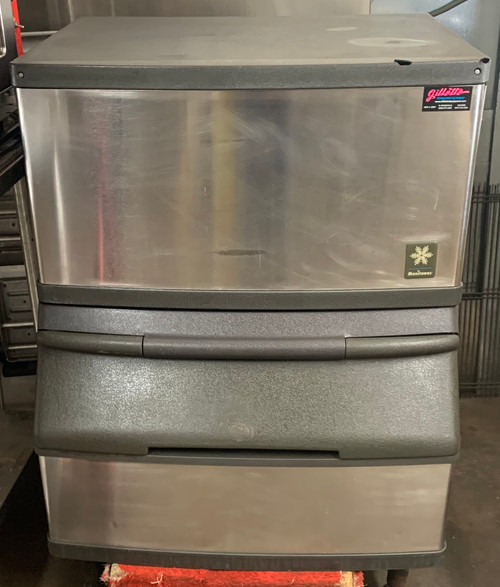 MANITOWOC QY0284A ICE MACHINE WITH BIN (IKT331)