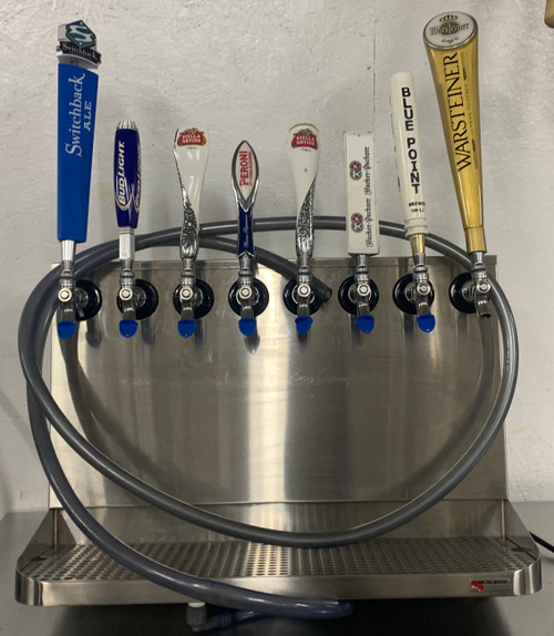 8 TAP WALL MOUNT DRAFT SYSTEM