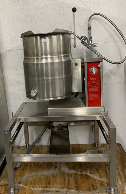 VULCAN VEC-10 10 GAL. STEAM KETTLE (I1T346)