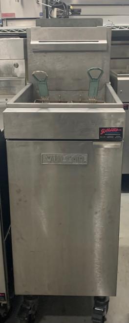 VULCAN LG400 40 LB PROPANE FRYER (KCT367)
