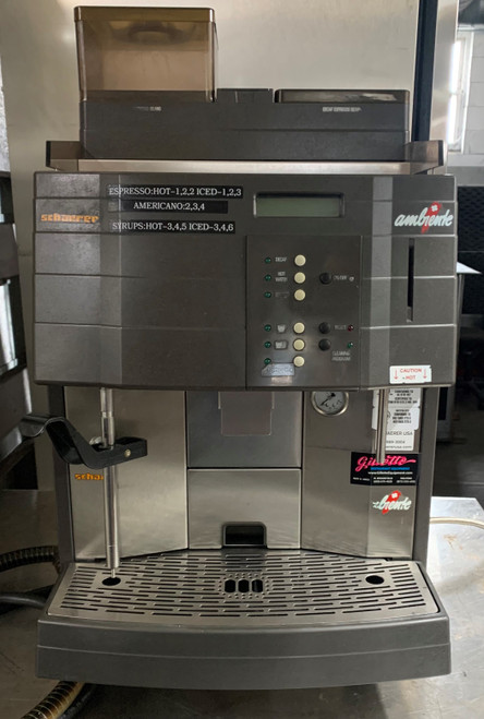 SCHAERER AMBIENTE 15 SO ESPRESSO MACHINE (LBT398)