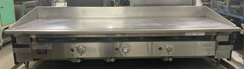 KEATING 72BL-RD MIRACLEAN 72X30 GRIDDLE -NATURAL GAS (AUU423)