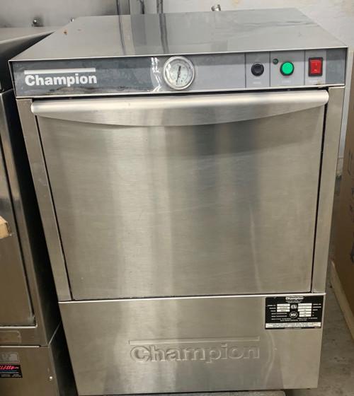CHAMPION UH100B-70 UNDER COUNTER DISH MACHINE (EUU464)