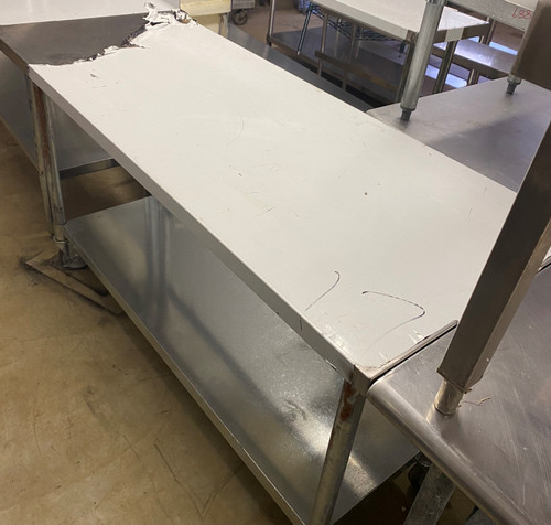 NEW STAINLESS STEEL TABLE
