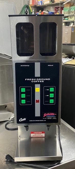 CURTIS DUAL COFFEE GRINDER (JAU501)