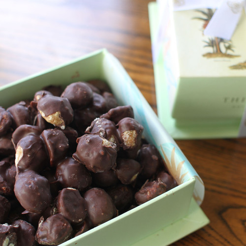 Chocolate Covered Macadamia Nuts - Half Pound