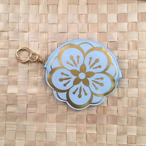 The Kahala flower Logo Coin Purse
