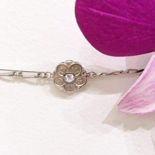 Kahala Logo Flower Bracelet