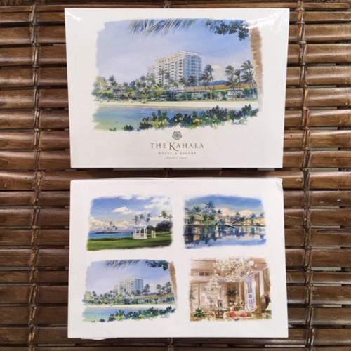 Kahala Water Color Note Card Set