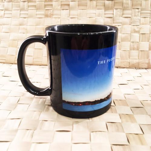 Kahala Evening View Scenic Ceramic Mug
