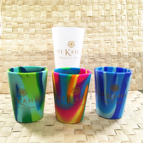 The Kahala Signature Silicone 8 oz Kids Cups
