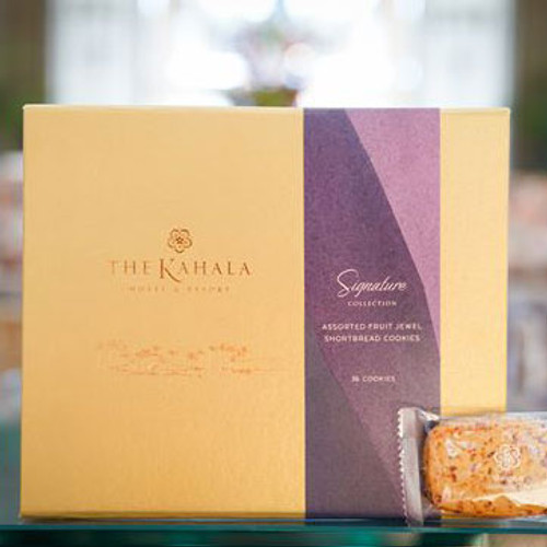 Kahala Signature Fruit Jewel Cookies