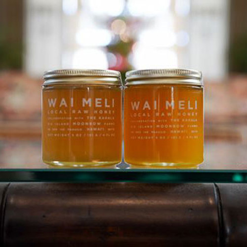 Hawaiian Local Raw Honey - Dark Blend