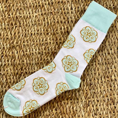 The Kahala logo long dress socks