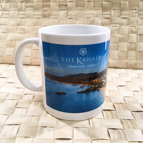 Kahala Day View Scenic Ceramic Mug