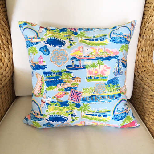 The Kahala Collage Collection Pillow Cover