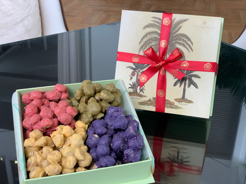 Limited Edition 4 Flavors Mac Nuts (Strawberry, Ube, Pineapple and Green Tea)