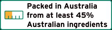 product of australia 45