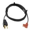 Replacement Cord- 90 Degree 2 pin plug, 5' Long (Zerostart 3600001)