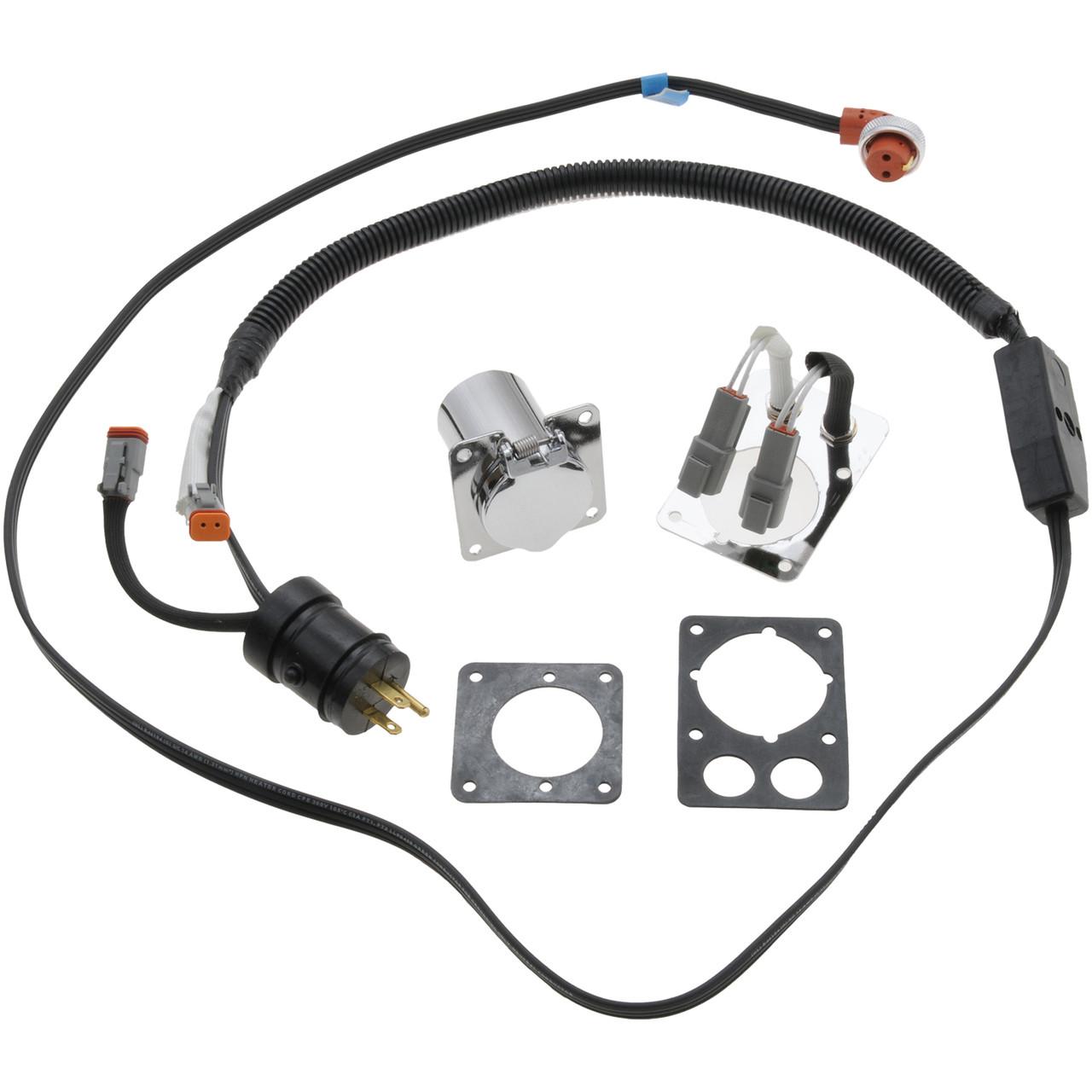 8606005 ZeroStart Power Cord 120V 6/' Weatherproof Receptacle
