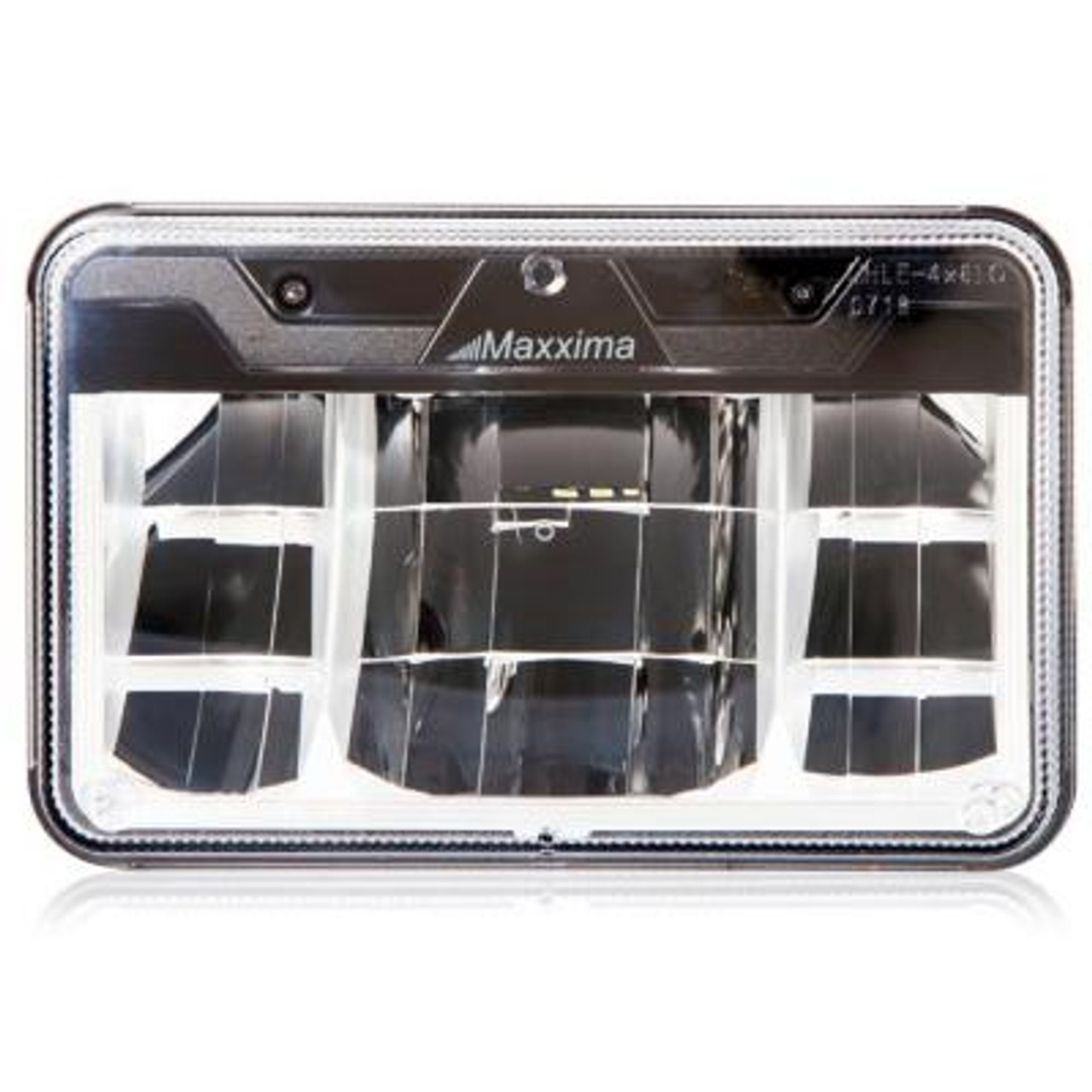 """Maxxima 4""""X 6"""" LED Headlamp- 4 Beam System, Lo Beam replacement for H4656  MHLE-4X6LO"""