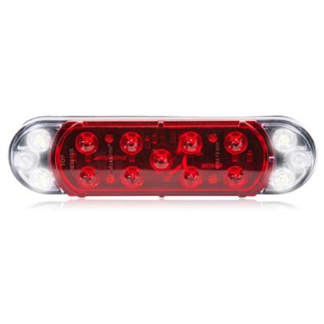Hybrid Oval LED Stop/Tail/Turn/Back Up Lamp