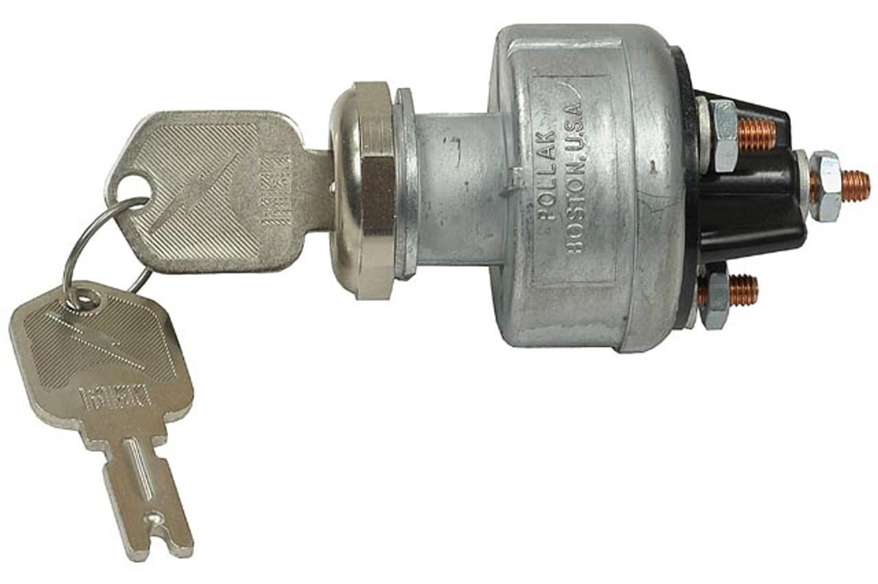 Pollak 31-610 4-Position Ignition Switch Universal Key