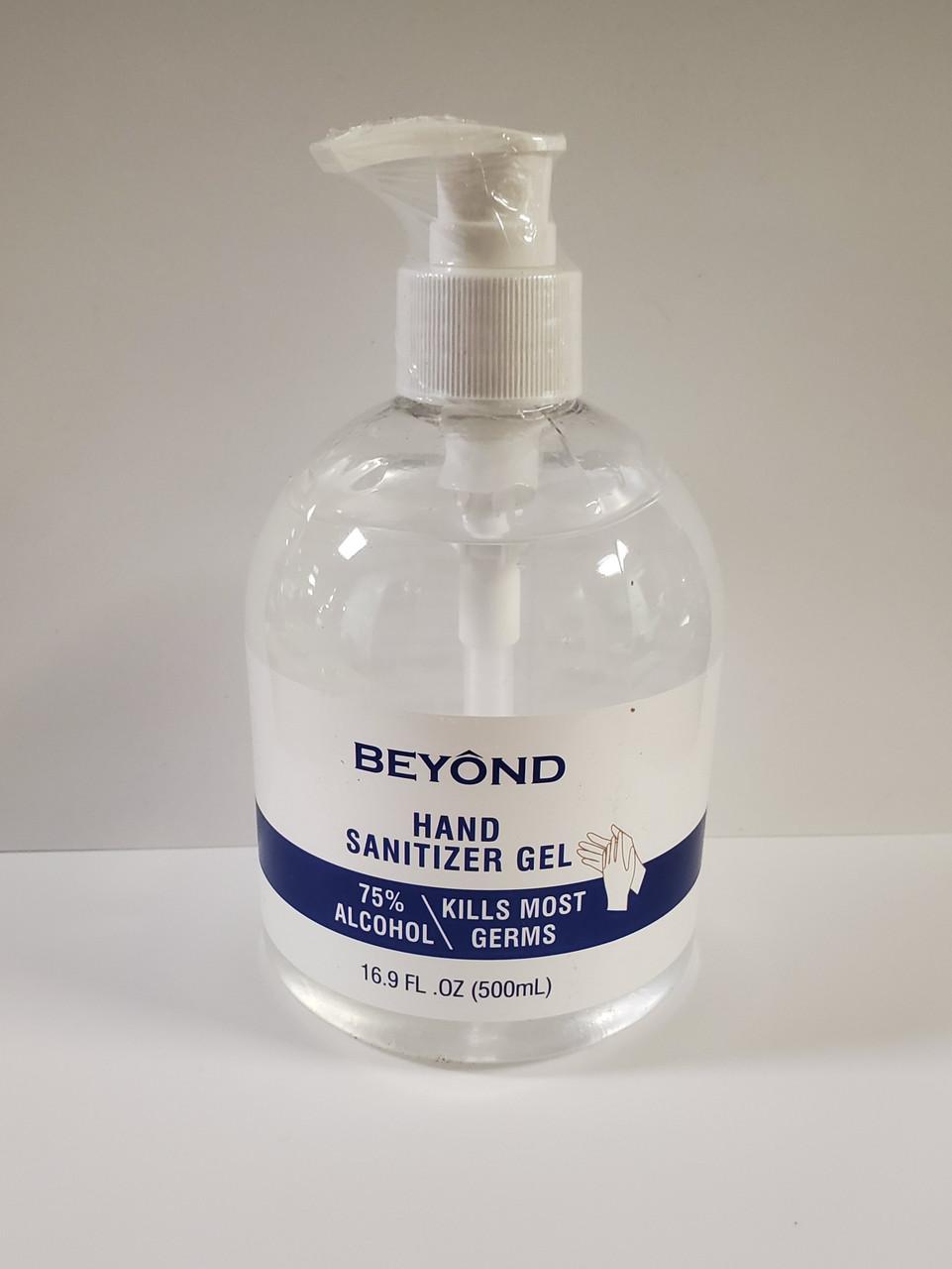 Performance Tool Beyond Hand Sanitizer Gel 16.9oz Bottle with Pump
