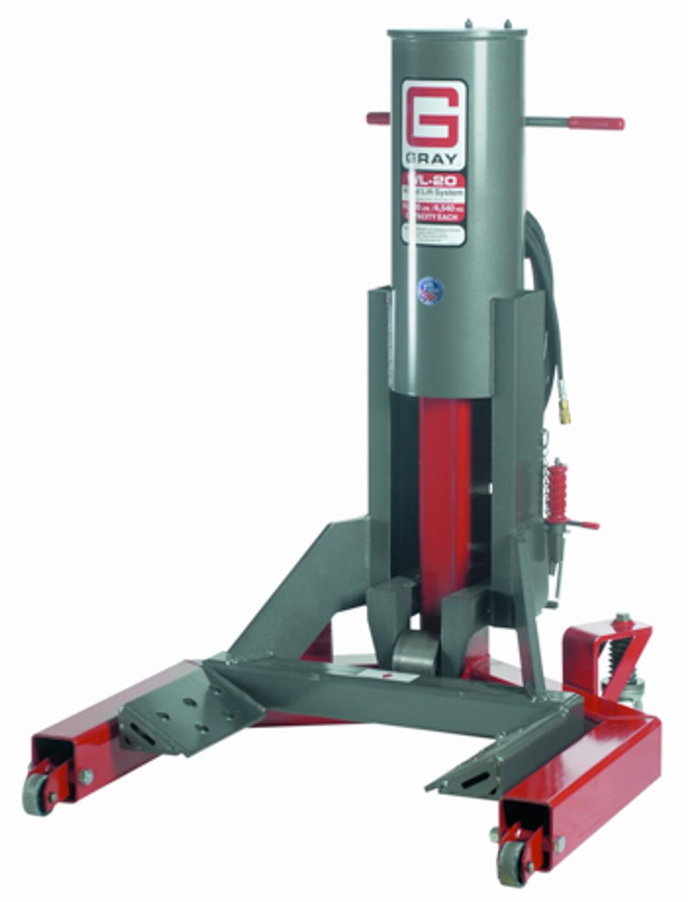 Gray WL-20 10 Ton Wheel Lift System  (US MADE) FREE SHIPPING