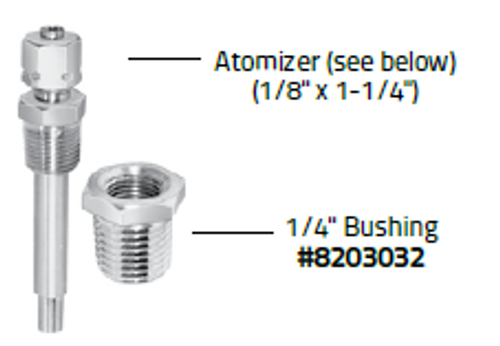 "1/4"" Bushing for Diesel Starting Fluid Kit Atomizer (Zerostart 8203032) (SO)"