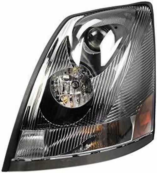 Volvo VN / VNL / VNM Headlight LH 04-18 (non-LED)