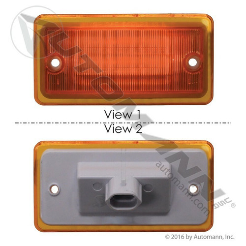 Freightliner Columbia / Century Cab Marker Lamp 4 LED Replacement