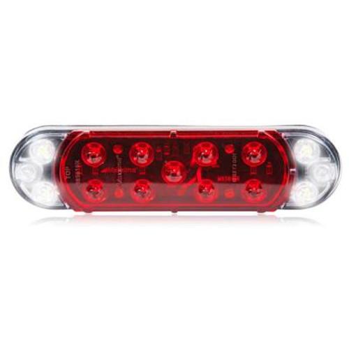 Hybrid Oval LED Stop/Tail/Turn/Back Up Lamp