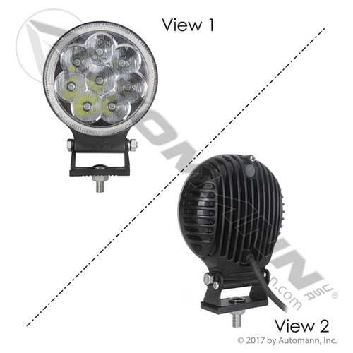 "5"" Round Led Driving Lamp 2160 Lumens"