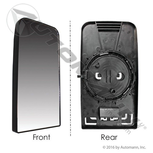 Freightliner Cascadia Upper Mirror- Glass and Carrier Only- Replaces 28716A