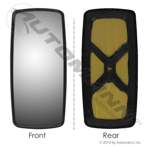 Freightliner Columbia / Century / M2 Mirror- Glass and Carrier Only- Non- Heated replaces A22-58516-000