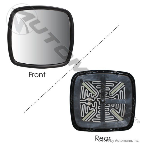Freightliner Columbia / Century / M2 Convex Mirror- Glass and Carrier Only- Heated replaces  A22-59713-001