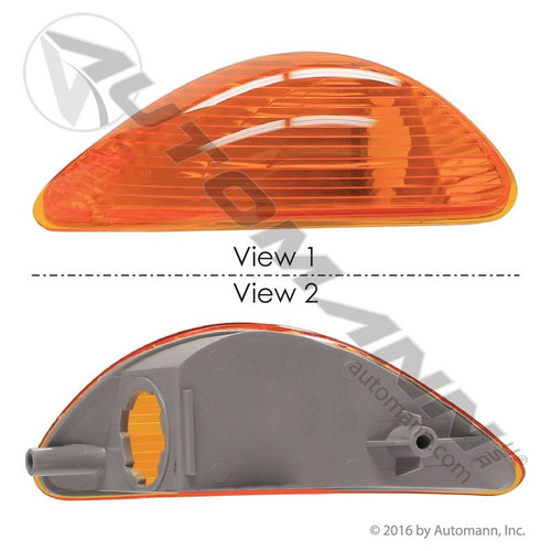 International RH Turn Signal / Marker Lamp- Durastar / Workstar/ BE / CE / RE Series- Replaces  3561966C1 (SO)