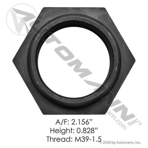 Meritor Rear Axle Output Shaft Nut- replaces 40x1237