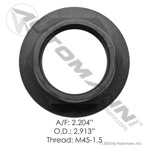 Meritor Rear Axle Input Shaft Nut- replaces 40x1233
