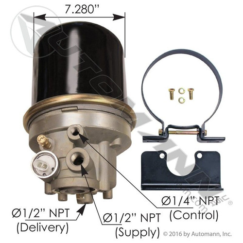 AD-IP Type Air Dryer- 12V *NEW*