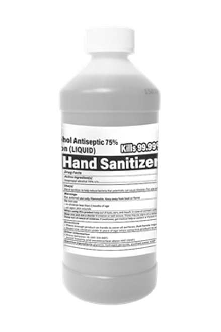 16oz Liquid Hand Sanitizer by Berkebile