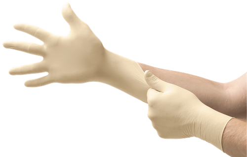 Microflex Diamond Grip Latex Exam Grade Gloves 100ct/box MF