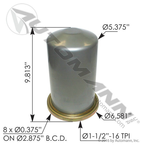 CR Style Air Dryer Cartridge- replaces T224N