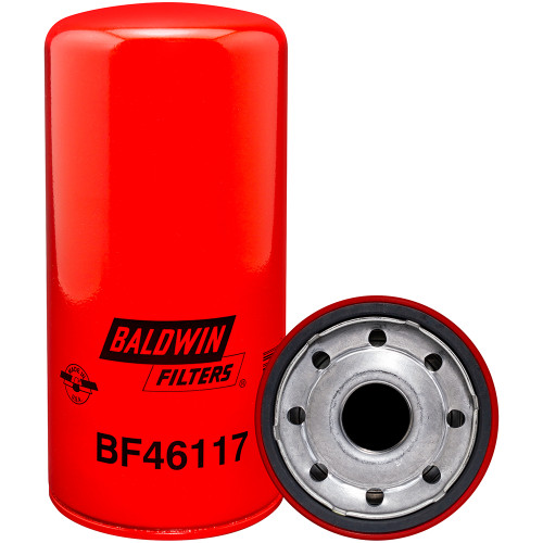 Baldwin BF46117 Oil Filter, Spin-on- Mack/Volvo 23856886/23846895