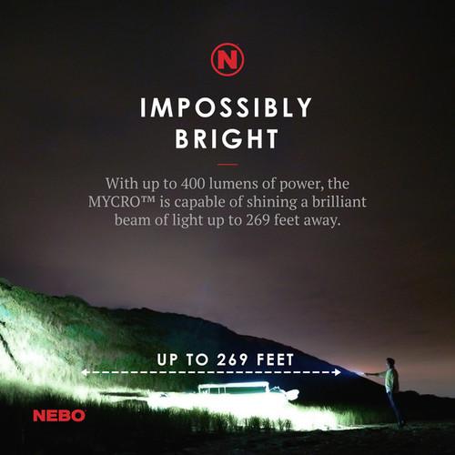 Nebo Mycro Rechargeable Keychain Pocketlight