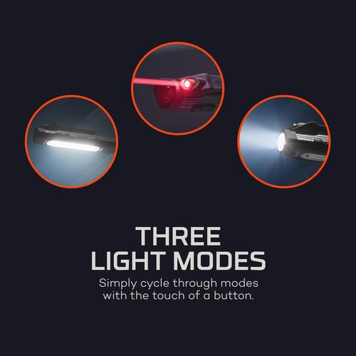 Nebo Larry Trio Work Light, Spot Light & Laser Pointer