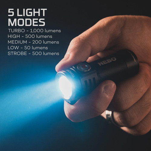 Nebo Torchy LED Rechargeable Clip Light